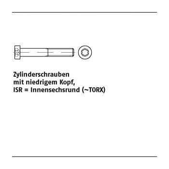 200 Inbus Senkkopfschrauben ISO 10642 8.8 verzinkt M8x12